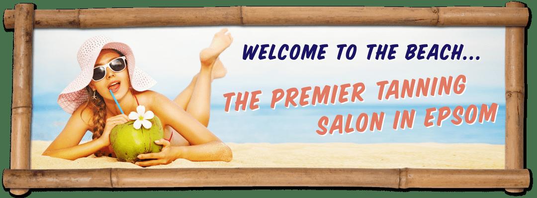 Tanning Salon Surbiton Banner