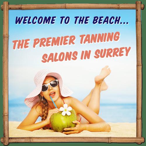 Tanning Salon Surrey Banner